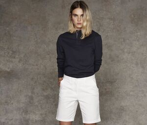 Front row FR606 - DAMES STRETCH CHINO KORTE BROEK