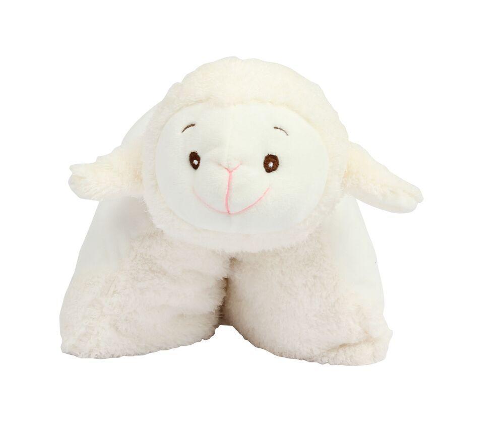 Mumbles MM600 - Coussin agneau en peluche.