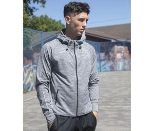 Tombo TL550 - Sudadera con capucha running para hombre