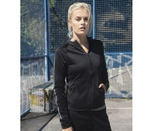 Tombo TL551 - Sudadera con capucha running para mujer