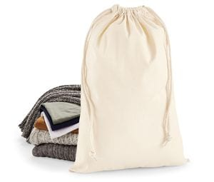 Westford mill WM216 - Premium Cotton Cord Bag