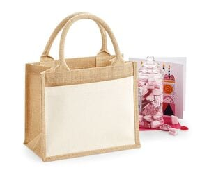 WestFord Mill WM425 - Cotton pucket jute gift bag