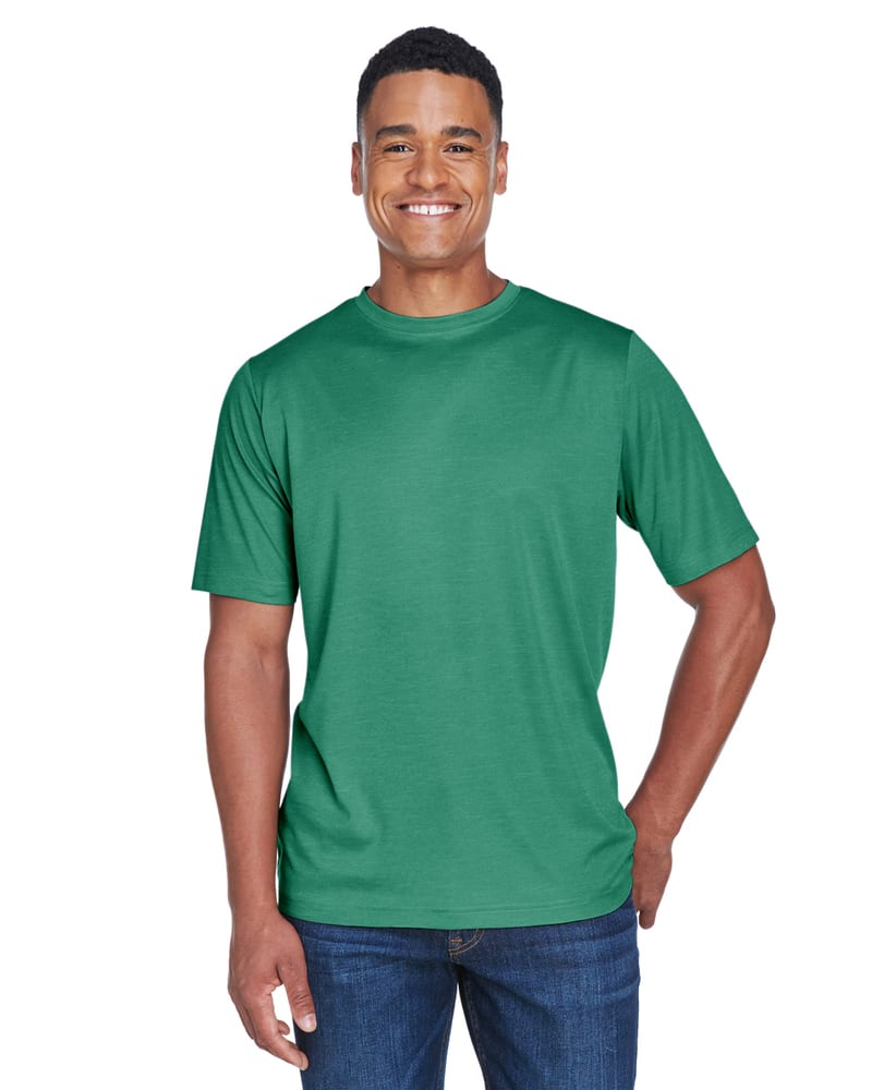 Team 365 TT11H - T-shirt Performance Sonic Heather pour homme