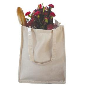 Q-Tees Q125400 - Canvas Jumbo Shopper with Gusset