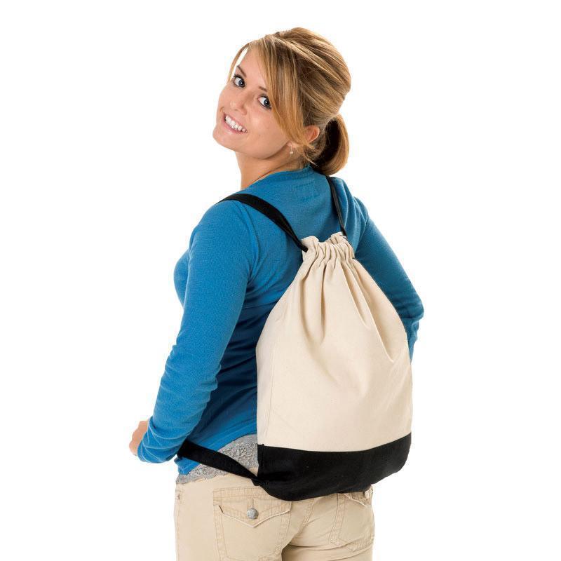 Q-Tees Q125700 - Canvas Sport BackPack