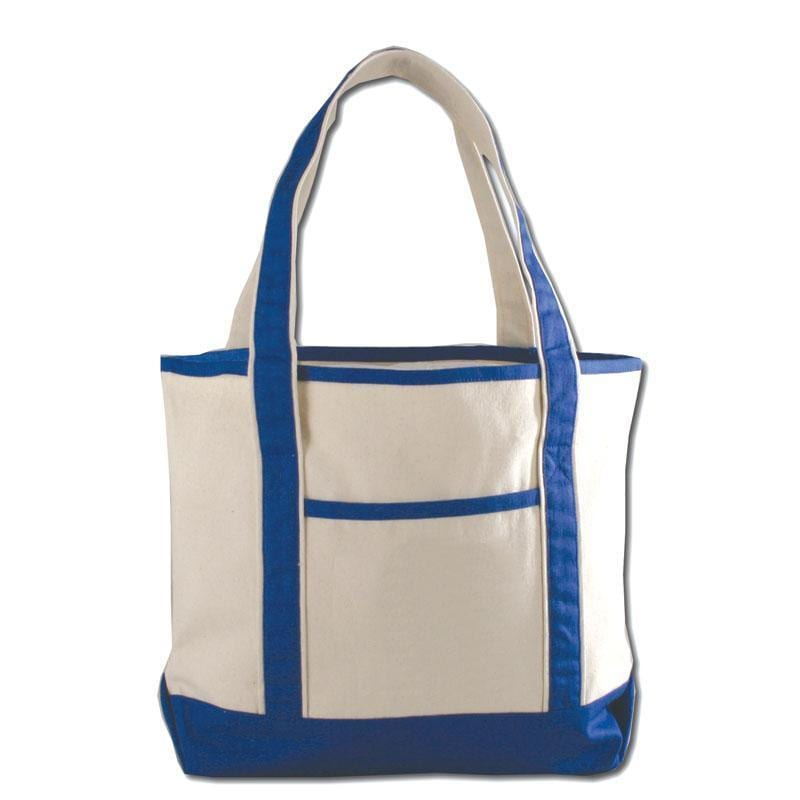 Q-Tees Q125800 - Small Canvas Deluxe Tote Bag