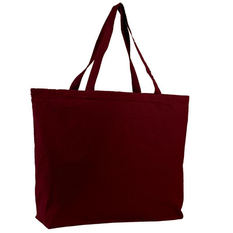 Q-Tees Q600 - Canvas Jumbo Tote Bag