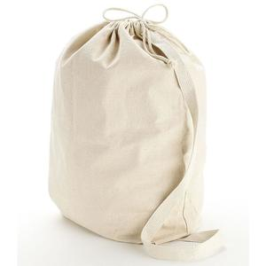 Q-Tees QLB - Canvas Drawstring Bag