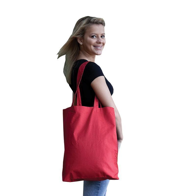 Q-Tees QTBG - Economical Tote Bag with Bottom Gusset