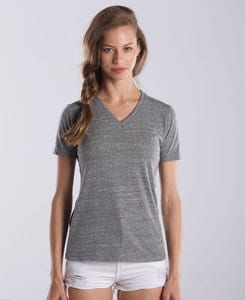 US Blanks US0228 - Ladies V-Neck Tri-Blend Tee
