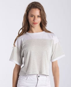 US Blanks US0608 - Ladies Recycled Boxy Yoke Tee