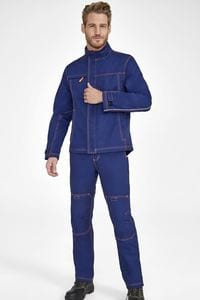 Sols 01566 - Workwear Hemd Workwear éénkleurig Force Pro