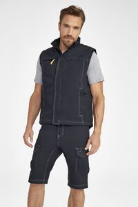 Sols 01568 - Worker Pro Mens Solid Colour Workwear Bodywarmer