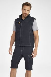 Sols 01568 - Bodywarmer Homme Unicolore WORKER PRO