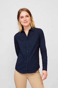 Sols 01649 - Womens Polka dot Shirt Becker