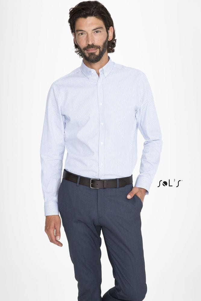 Sol's 01650 - Men's Striped Shirt Beverly