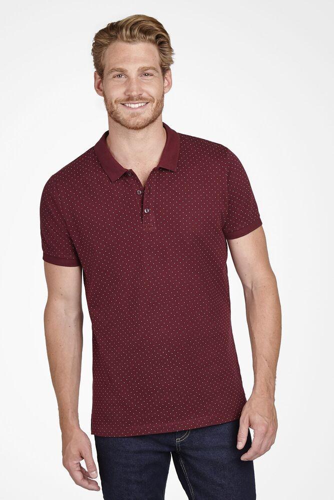 Sol's 01706 - Men's Polka dot Polo Shirt Brandy