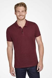 Sols 01706 - Mens Polka dot Polo Shirt Brandy