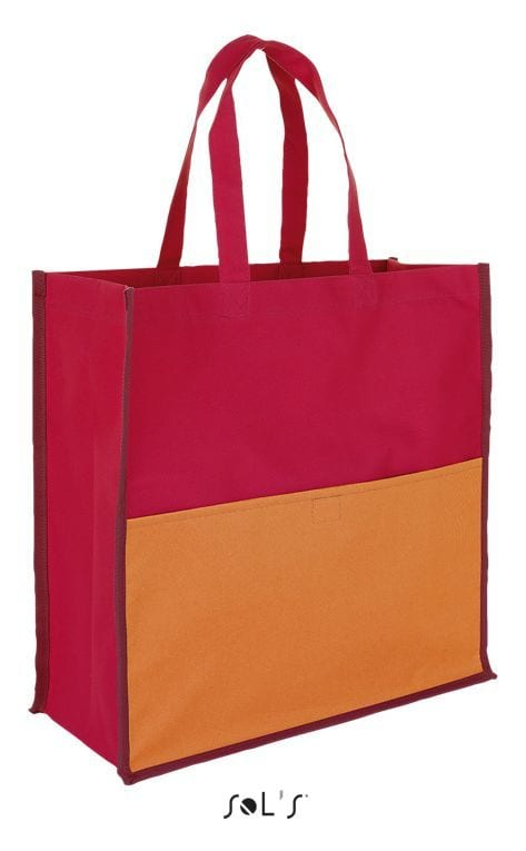 Sol's 01669 - Burton Polyester Three Colour Shopping Bag