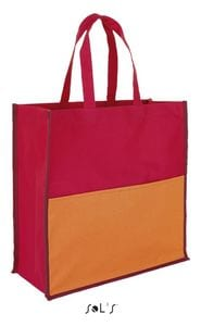 Sols 01669 - Burton Polyester Three Colour Shopping Bag