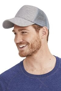 Sols 01688 - 5 Panel Heather Mesh Cap Dodge