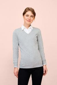Sols 01711 - Glory Womens V Neck Sweater