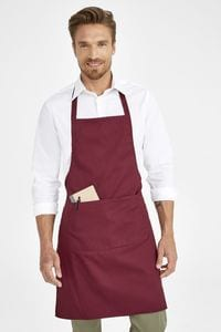 Sols 01744 - Long Apron With Pocket Gramercy