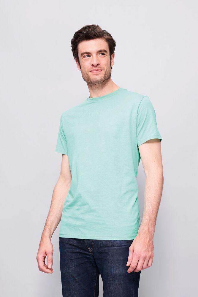 Sol's 01698 - Tee Shirt Col Rond Ajusté Homme Marvin