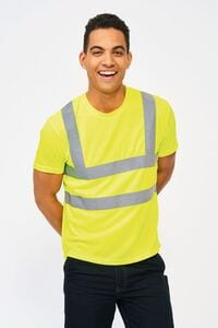 Sols 01721 - T Shirt With High Visibility Strips Mercure Pro