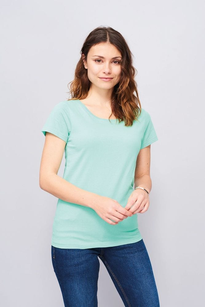 Sol's 01699 - Women's Round Neck Fitted T Shirt Mia