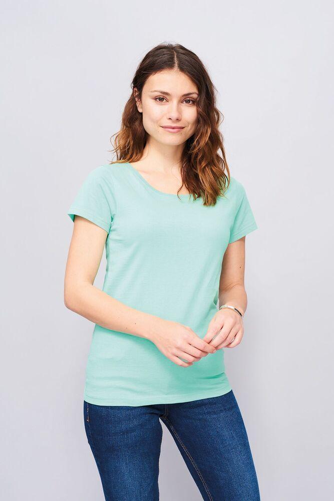 Sol's 01699 - Tee Shirt Col Rond Ajusté Femme Mia