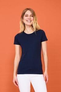 Sols 01837 - Tee Shirt Col Rond Femme Murphy