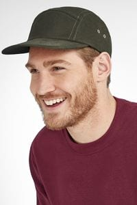 Sols 01663 - Parker 5 Panel Solid Colour Cap