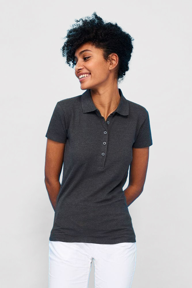 Sol's 01709 - Phoenix Women's Cotton Elastane Polo Shirt