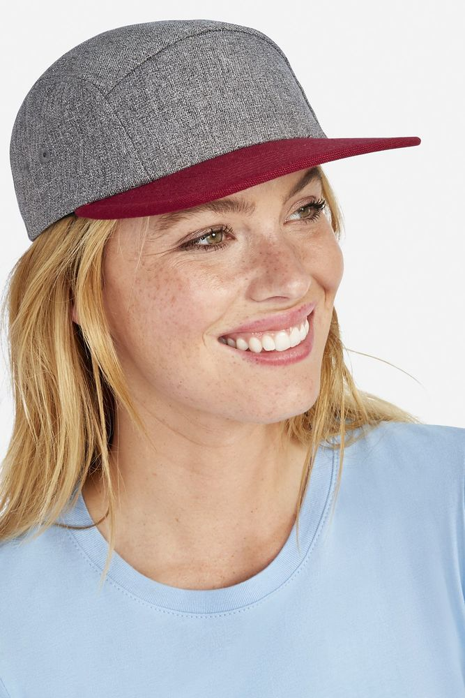 Sol's 01662 - 5 Panel Heather Two Colour Cap Ramsey