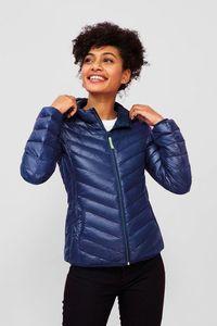 Sols 01621 - Womens Light Hooded Padded Jacket Ray