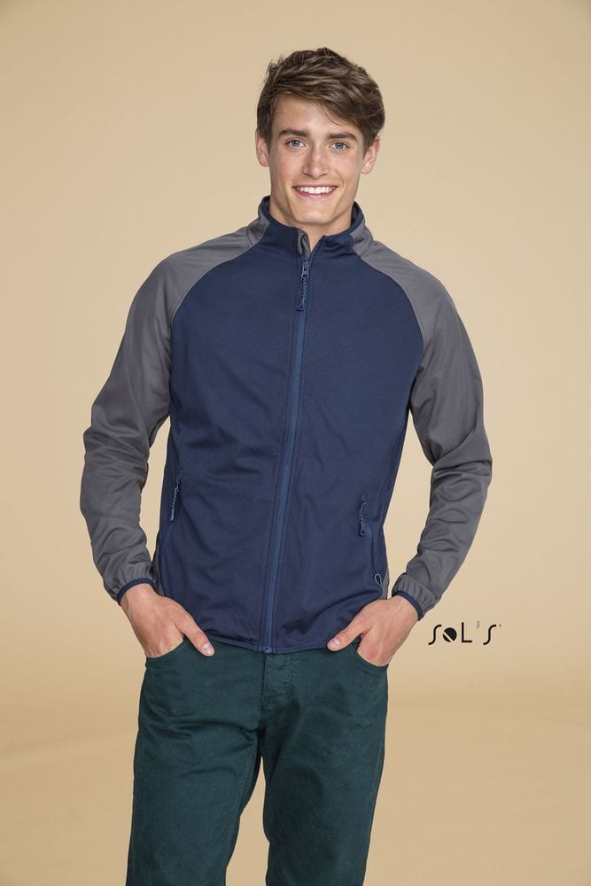 Sol's 01624 - Softshell Ultra Light Bicolore Homme Rollings