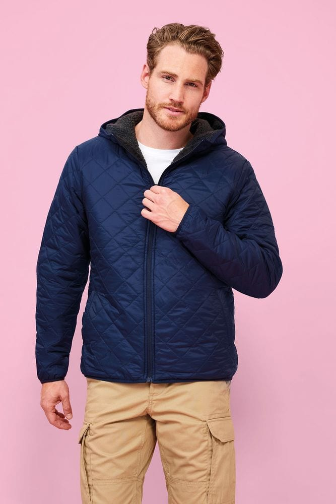 Sol's 01615 - Unisex Hooded Padded Jacket Rover