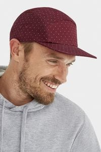 Sols 01687 - Cappellino Adulto A 5 Pannelli Stampa a Pois Taylor