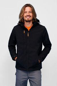 Sols 01647 - Softshell Jacket Removable Hood and Sleeves Transformer