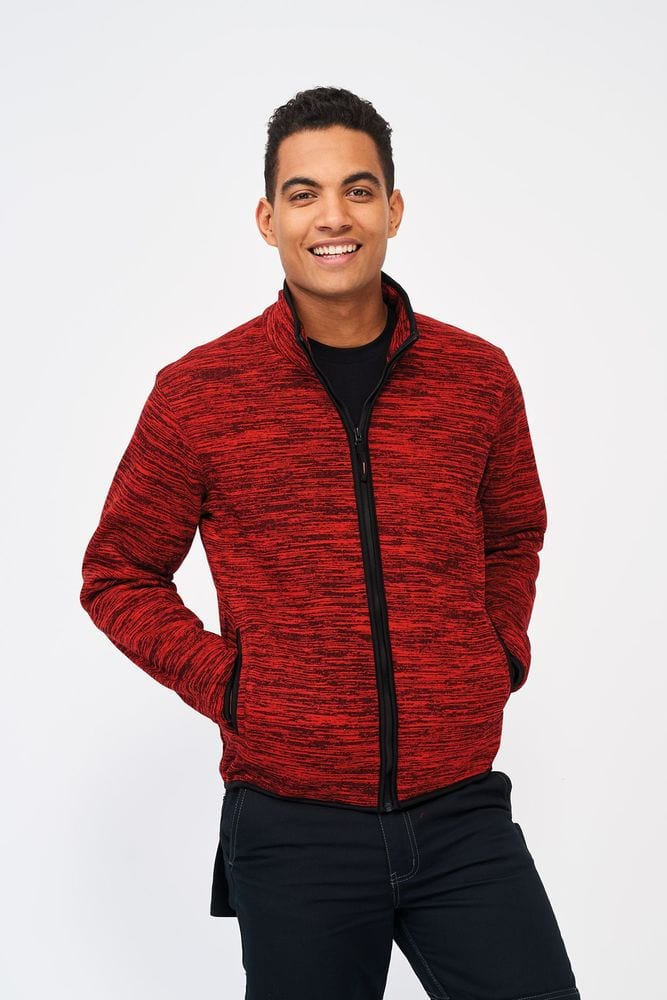 Sol's 01652 - Knitted Fleece Jacket Turbo