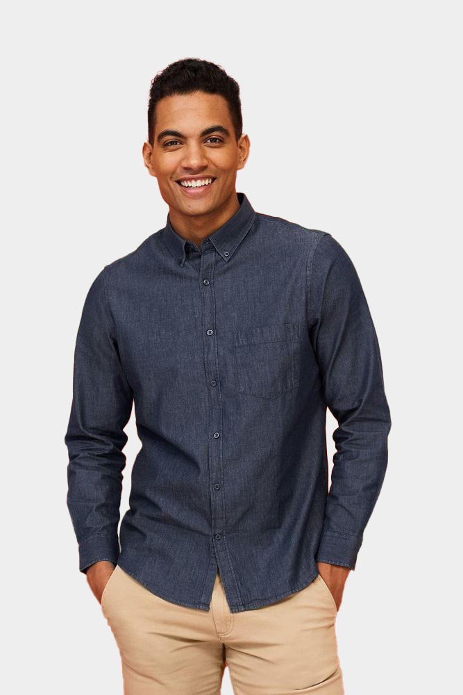 Sol's 02100 - Denim Herenoverhemd Barry