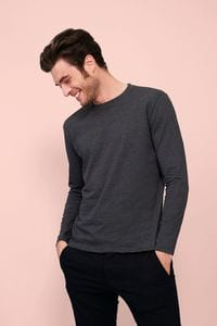 Sols 02074 - Imperial Lsl Mens Long Sleeve T Shirt