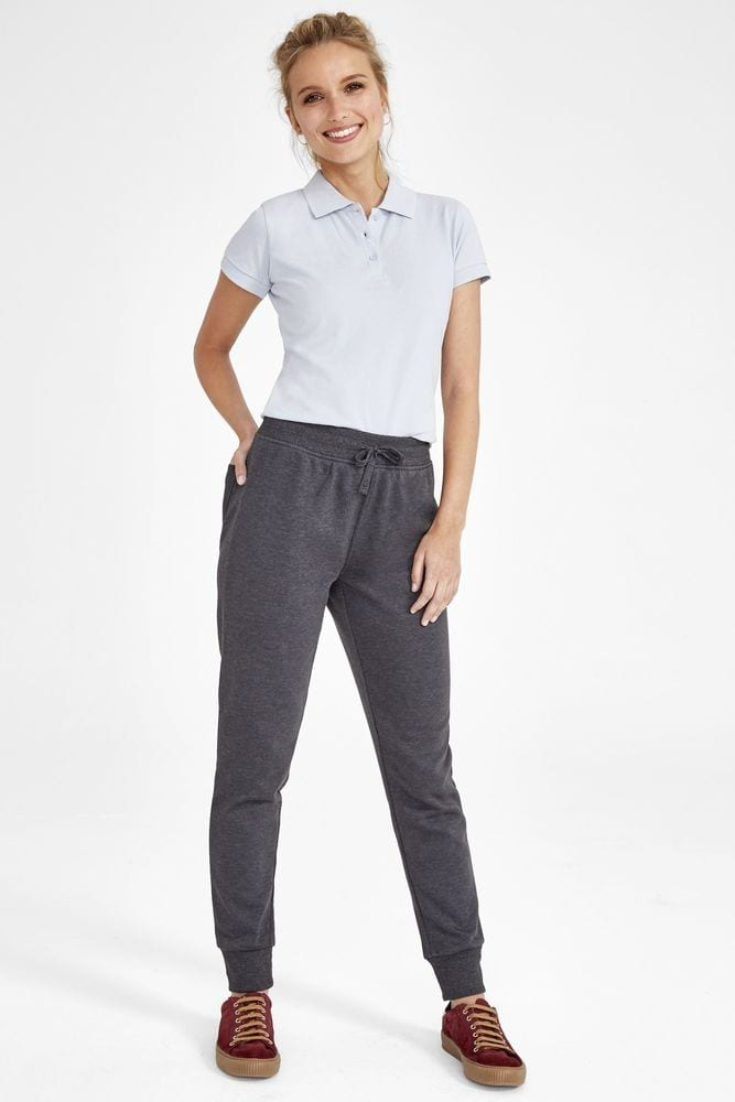 Sol's 02085 - Pantalon Jogging Femme Coupe Slim Jake