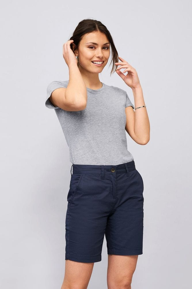 Sol's 02762 - Women's Chino Shorts Jasper