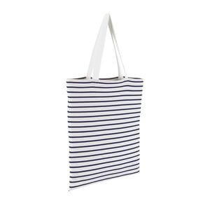 Sols 02097 - Luna Striped Jersey Shopping Bag