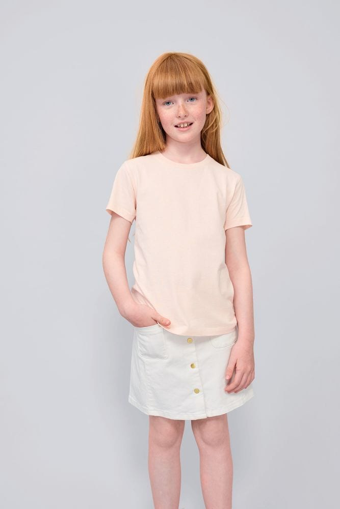 Sol's 02078 - Tee Shirt Enfant Col Rond Manches Courtes Milo