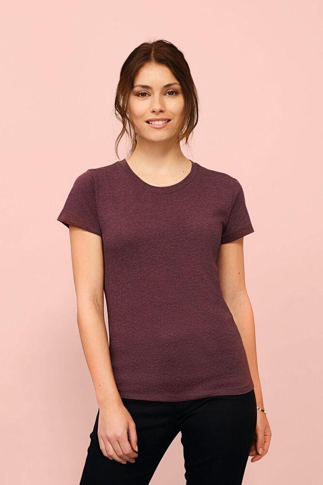 Sol's 02758 - Tee Shirt Femme Col Rond Ajusté Regent Fit