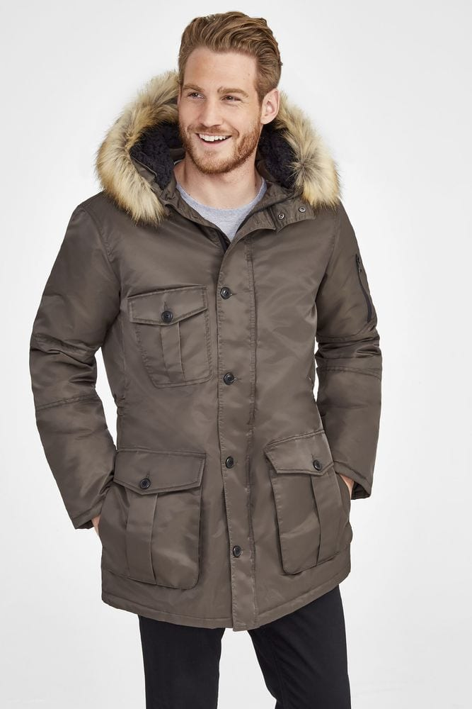 Sol's 02108 - Ryan Men's Warm And Waterproof Jacket