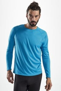 Sols 02071 - Mens Long Sleeve Sports T Shirt Sporty Lsl